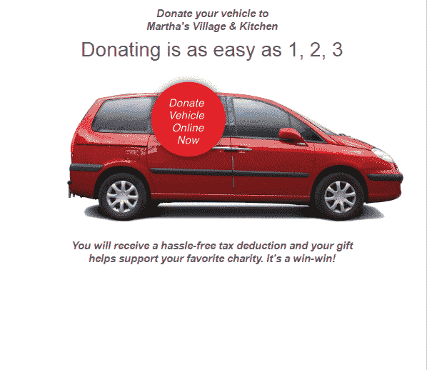 tax benefits of donating a car
