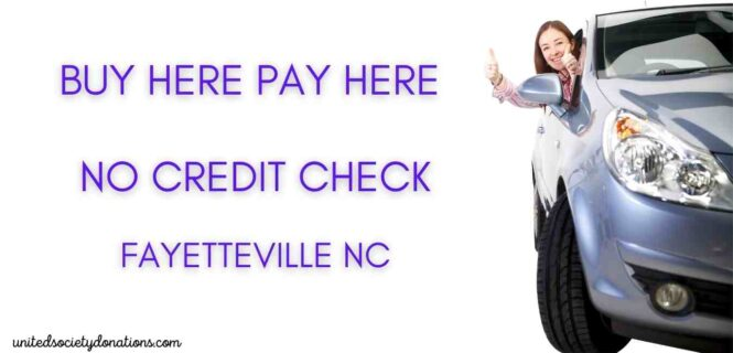 car dealerships in fayetteville NC with no credit check