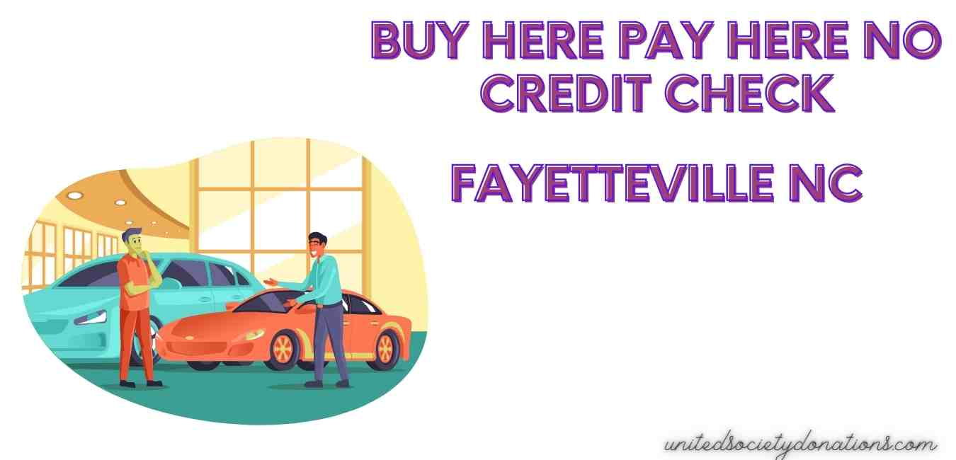 no credit check car dealers in fayetteville NC