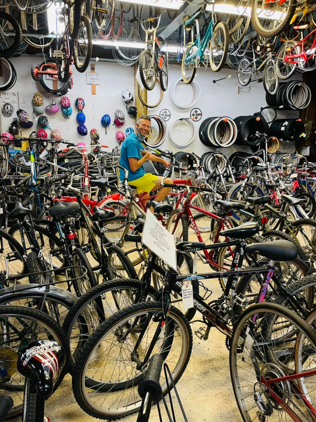 denver bicycle donation