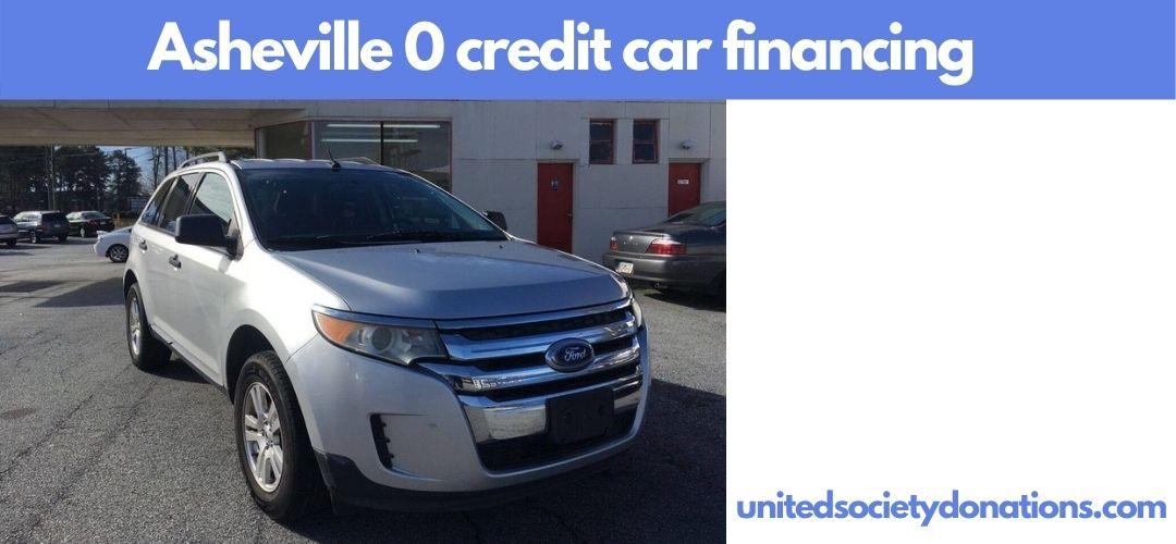 Asheville 0 credit car financing