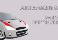 BHPH no credit check in Farmville