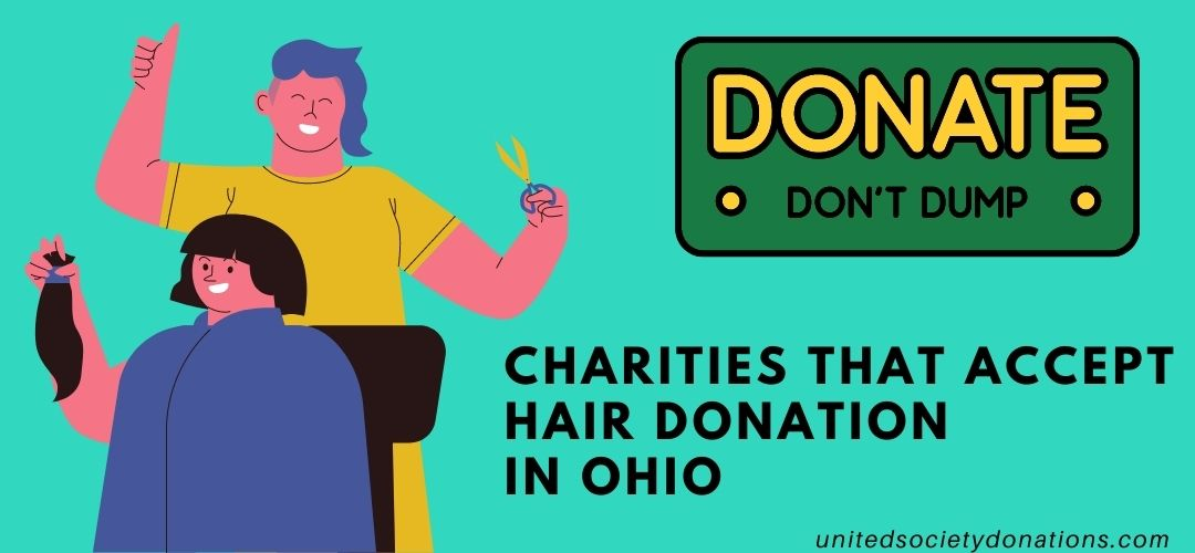 Charities that accept hair donation in Ohio