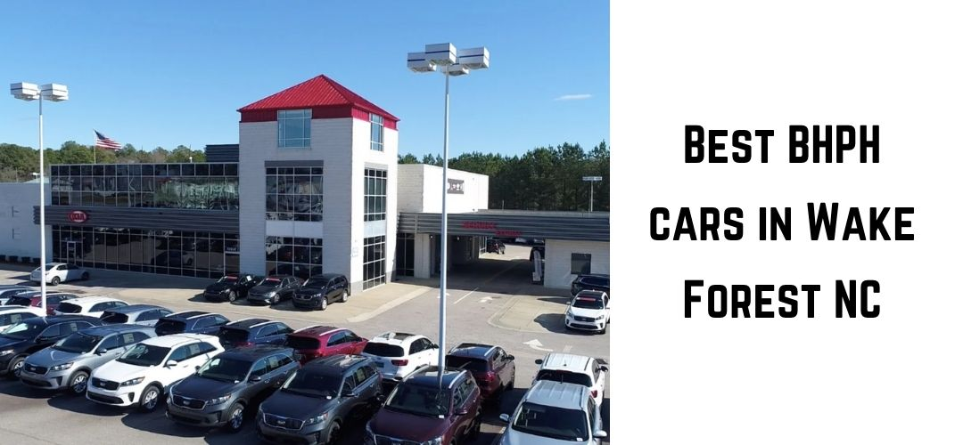 Best BHPH car dealers in Wake Forest NC